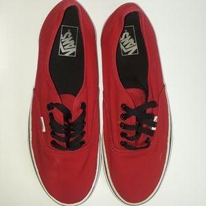 Van Red Sneakers Men Size 11